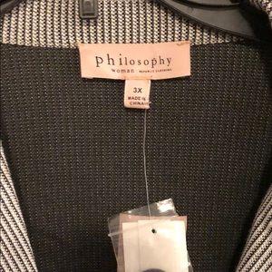 Philosophy Woman Knit Blazer
